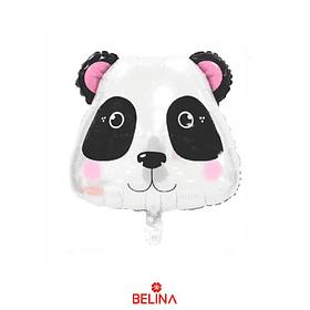 Globo metalico oso panda
