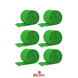 Feston fino verde oscuro 2.5cmx10m