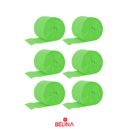 Feston Fino Verde Claro 6pcs 2.5cmx10m