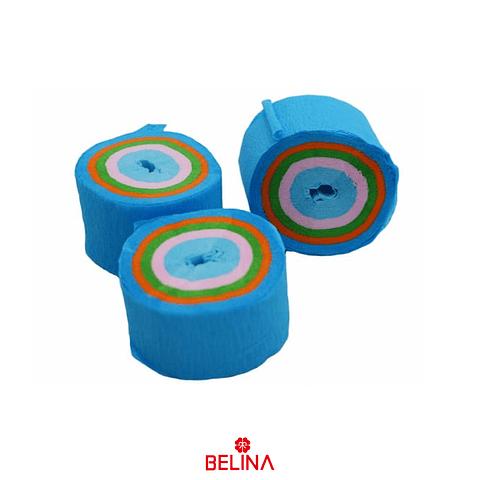 Feston Fino Celeste/Colores 6pcs
