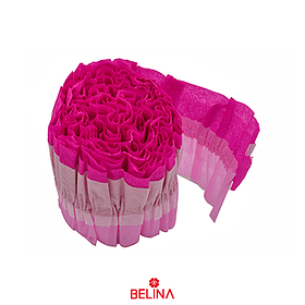 Feston decorativo fucsia/rosa 8x300cm 1pcs