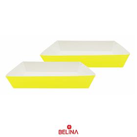 Cajas De Carton Amarilla 2pcs