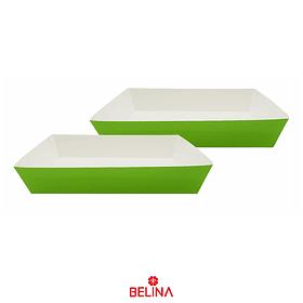 Caja De Carton Verde 2pcs