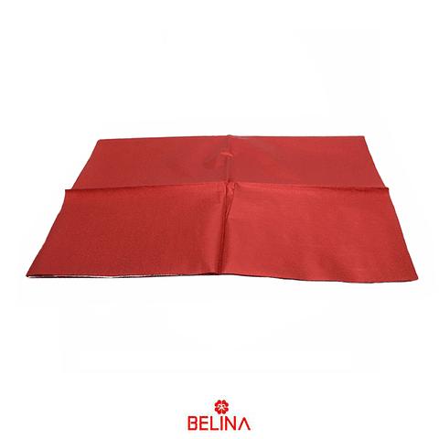 Papel de regalo rojo brillante 4pcs 50x70cm
