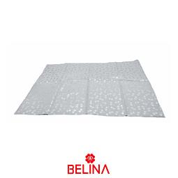Papel De Regalo Blanco Con Lazos Plata 4pcs 50x70cm