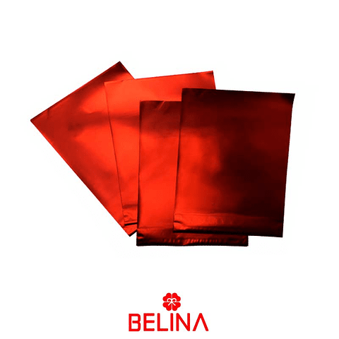 Envoltorio Para Regalo Rojo 17x22cm