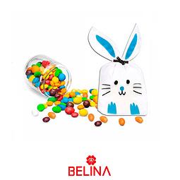 Bolsas de dulce conejo 10x17cm 12pcs