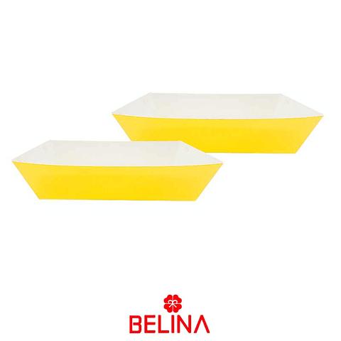 Cajas de carton amarilla 2pcs 29x11.5+23.5x12.5cm