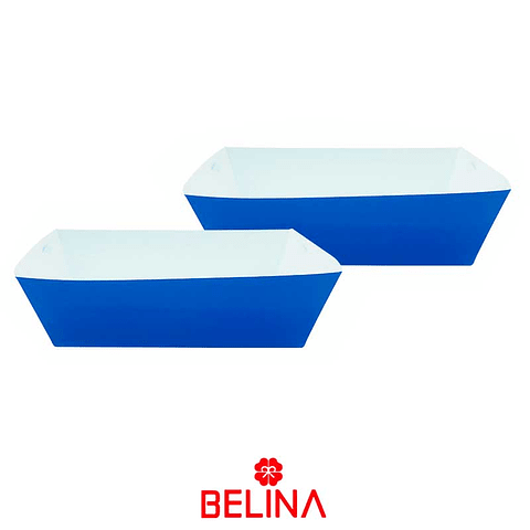 Caja Peq. Carton Azul 3pcs 21x12+17x9.5cm