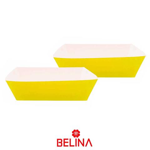 Caja peq. Carton amarilla 3pcs 21x12+17x9.5cm