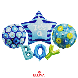 Set De Globos Its A Boy