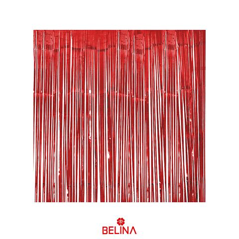 Cortinas Metalicas 3m Rojo