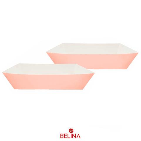 Cajas de carton rosa claro 2pcs 29x11.5+23.5x12.5cm