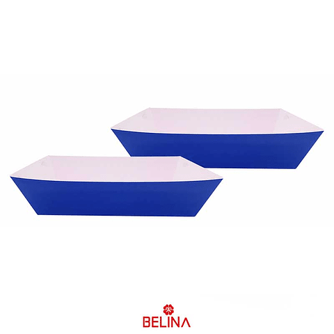 Cajas de carton azul 2pcs 29x11.5+23.5x12.5cm