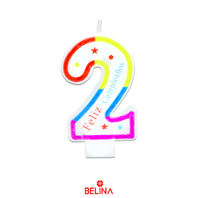 Velas tricolor #2