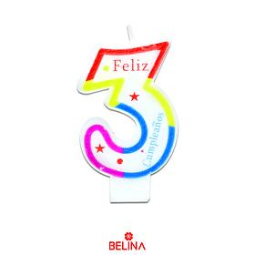 Velas tricolor #3