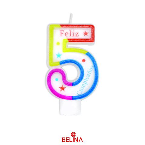 Velas tricolor #5
