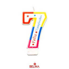 Velas tricolor #7