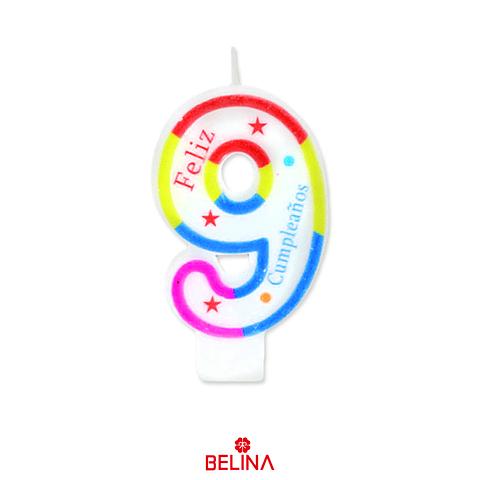 Velas tricolor #9