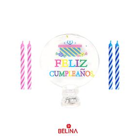 Vela Luminosa Feliz Cumpleaños