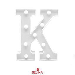 Letra con luz led K