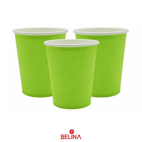 Vasos De Carton Verde