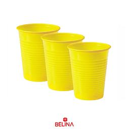Vasos neon amarillo 6pcs 290cc