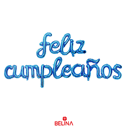 """Globo Feliz Cumpleaños Celeste 16""""1set"""