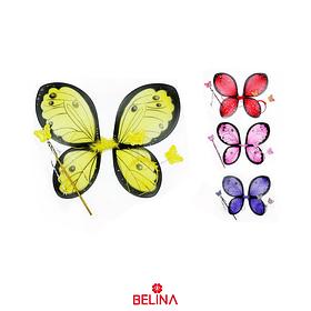 Alas De Mariposa Estampada