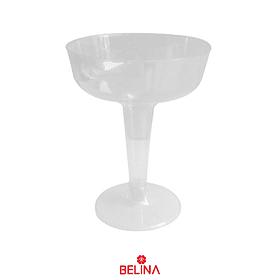 Copa Transparente 6pcs 8x11x6.5cm