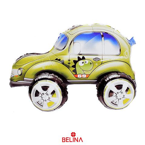 Globo Metalico 3d Auto Escarabajo 57x38cm