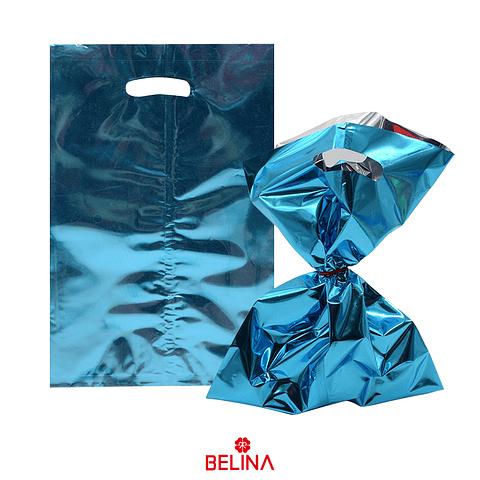 Bolsas Metalicas 8pcs Azul