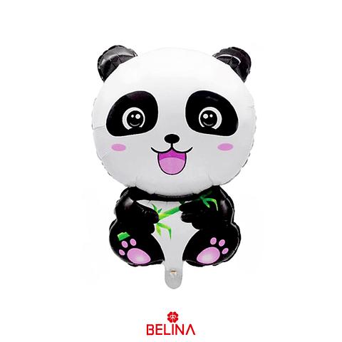 Globo Metalico Oso Panda 50x76cm