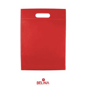 Bolsa de tela roja