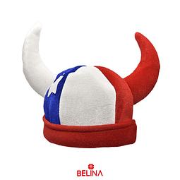 Sombrero de cuerno Chile 35x28cm