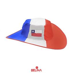 Sombrero plegable Chile 40x38cm