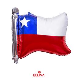 Globo Metalizado Chile Fiestas Patrias 64x56 Cm