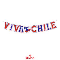 Guirnalda Viva Chile Fiestas Patrias Chile
