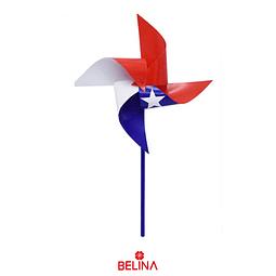 Remolino Bandera De Chile Fiestas Patrias 120pcs