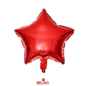 Globo Estrella Rojo 18 Pulgadas