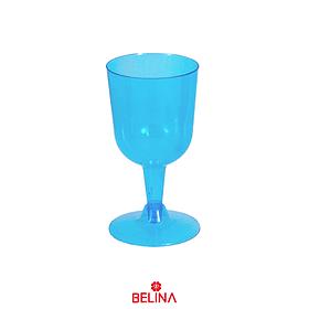 Copas Plásticas Color Azul 6pcs 175ml