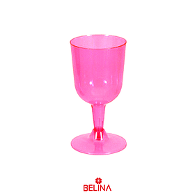 Copas Plásticas Rosa 6pcs 175ml