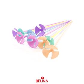 Varillas Para Globo Color Pastel 12pcs