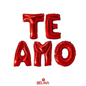 Pack Globos Te Amo Rojo