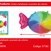 Globo Metalizado Dulce De Colores 55x83cm
