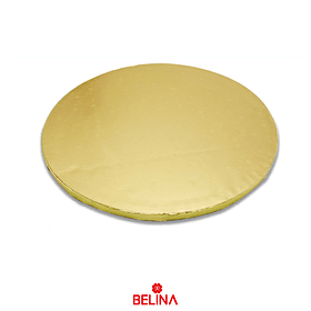 Base Para Torta Redonda Dorada 35cm