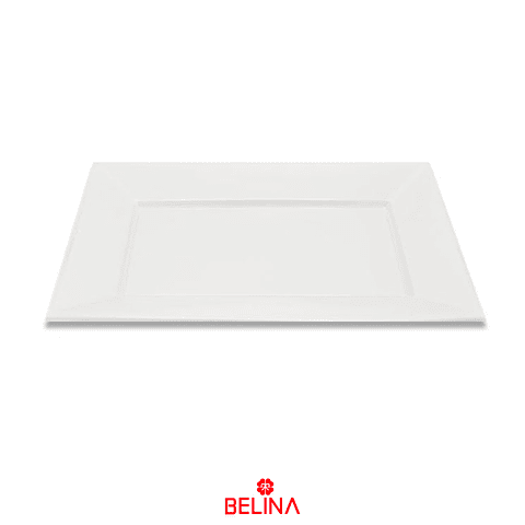 Bandeja Rectangular 32x23cm Blanco