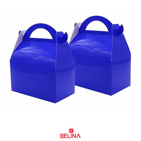 Caja De Tarta Azul 3pcs 16x9x19cm