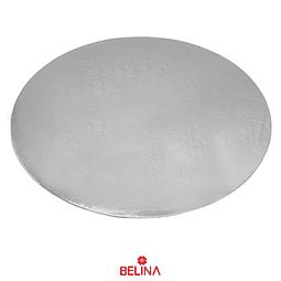 Plato torta redondo plata 30cm 2mm