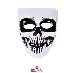 Máscara Halloween Pvc Diseños Surtidos 16,5x19cm